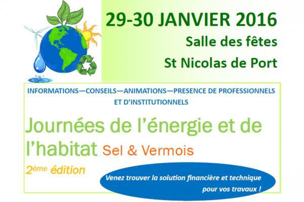 Journées de l'Énergie et de l'Habitat
