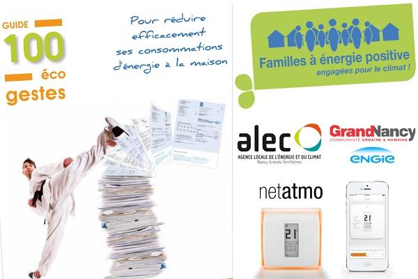 Les familles à énergie positive du Grand Nancy équipées de régulations connectées