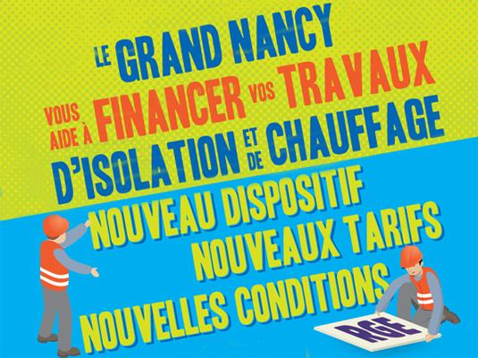 Les aides financières du Grand Nancy