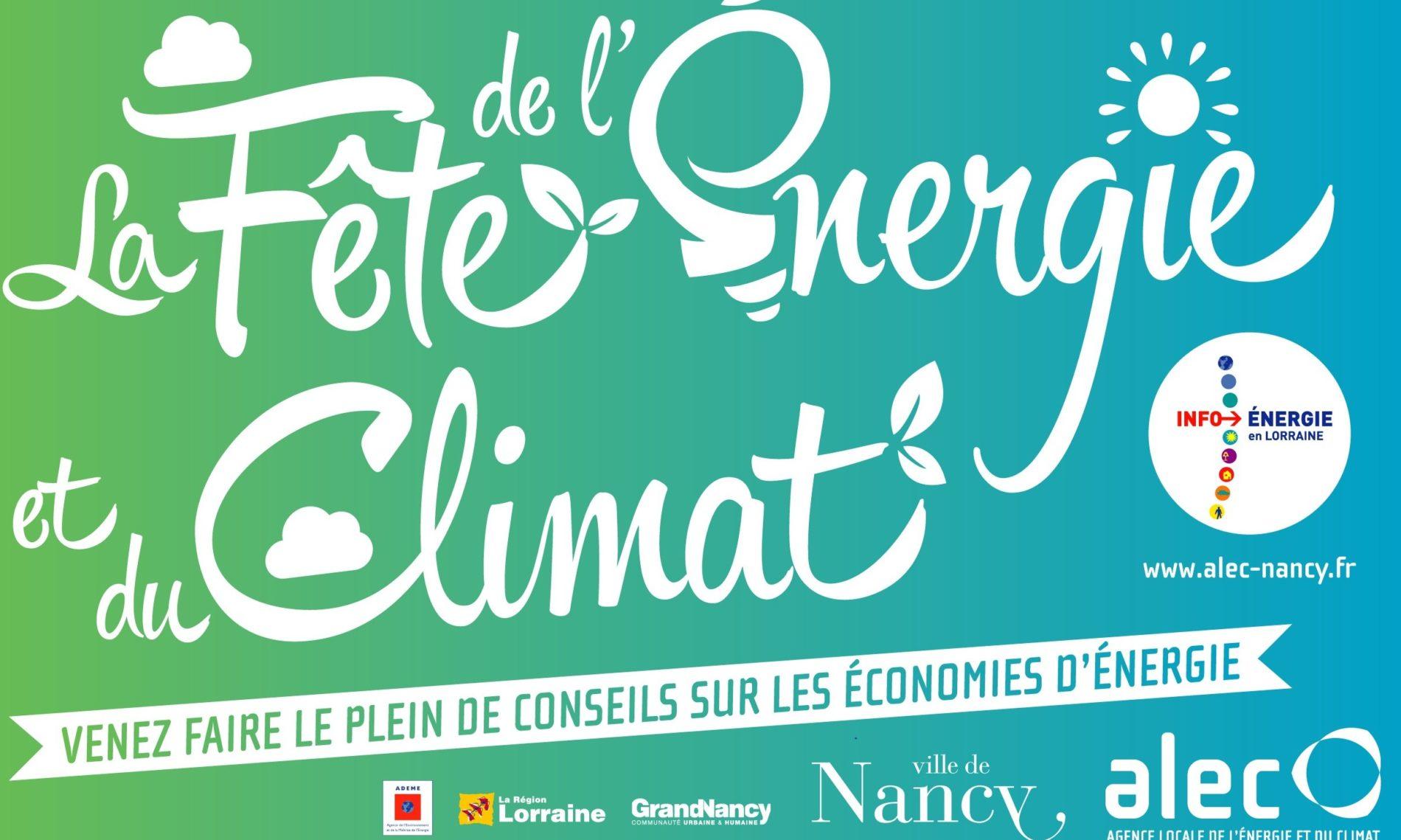 Fête de l'Énergie et du Climat à Nancy