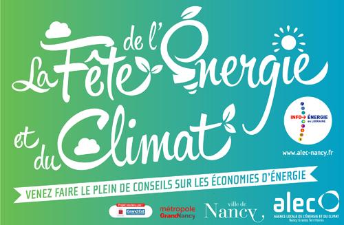 RETOUR DE LA FÊTE DE L'ÉNERGIE ET DU CLIMAT À NANCY