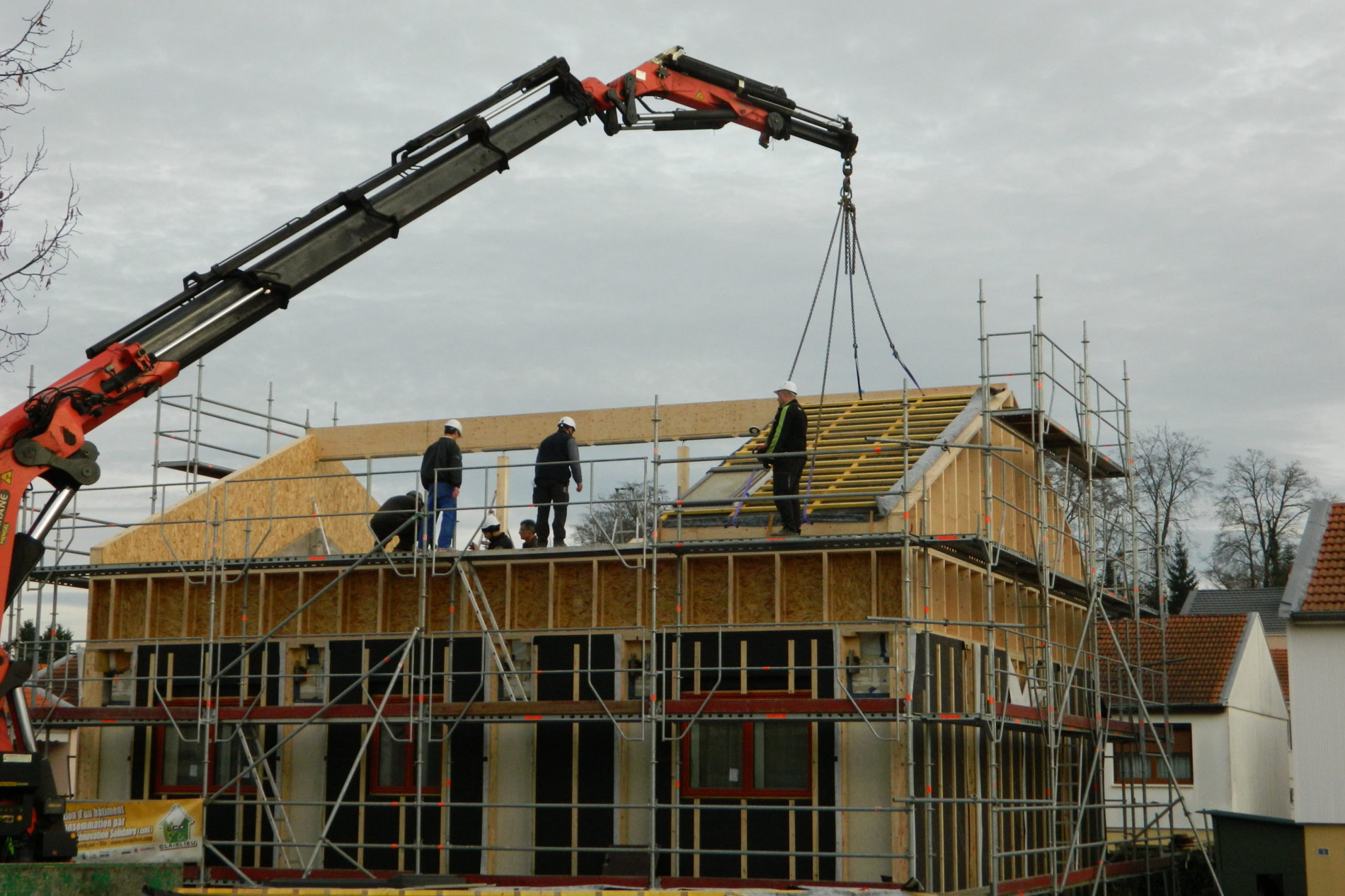 7ème chantier de rénovation solidaire à Clairlieu
