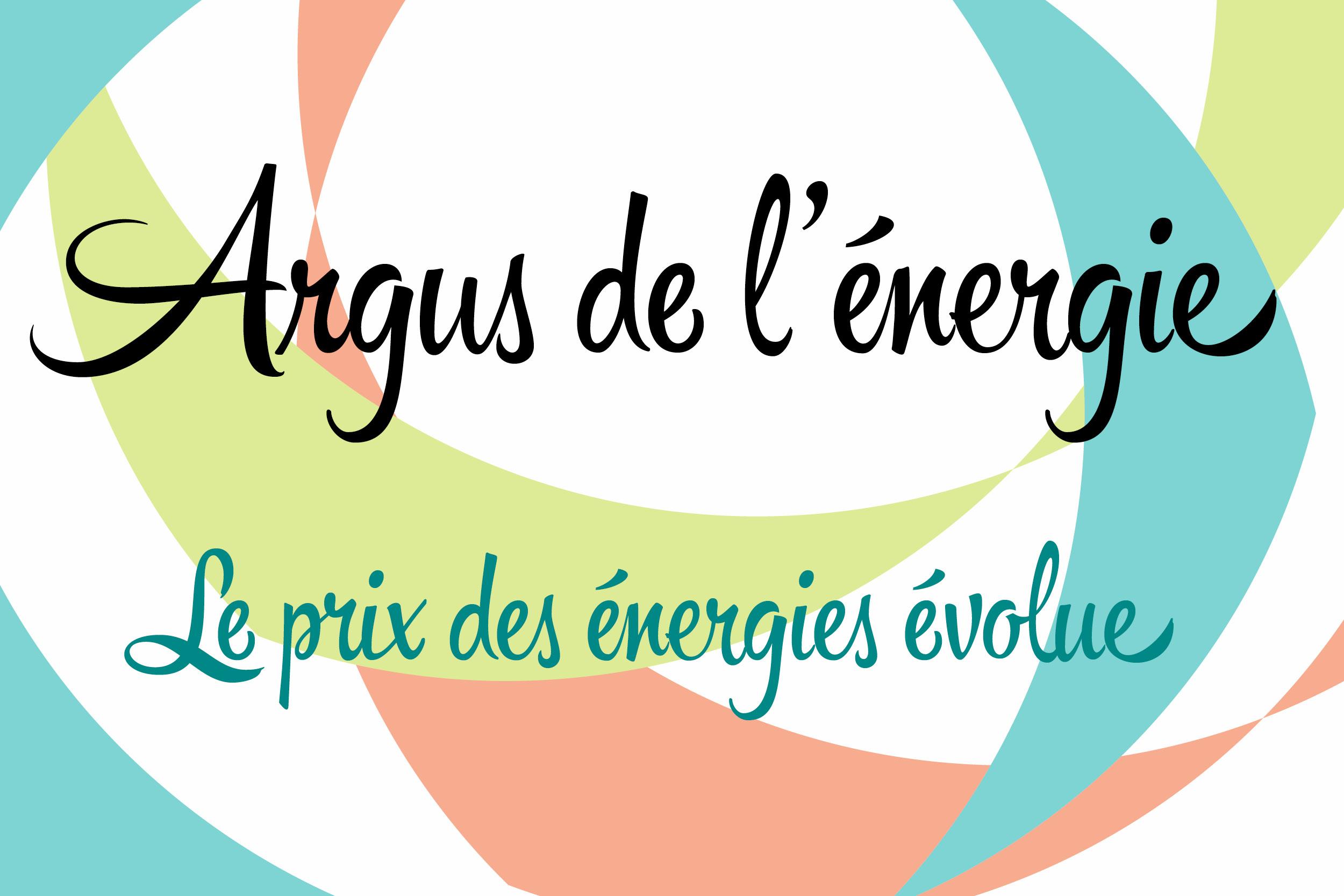 Le prix des énergies évolue