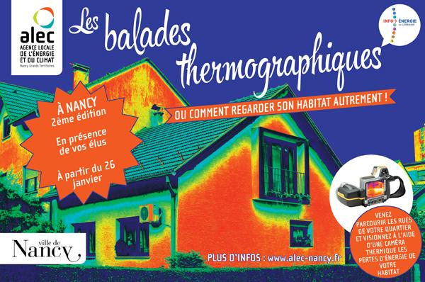 3ème édition des balades thermographiques à Nancy