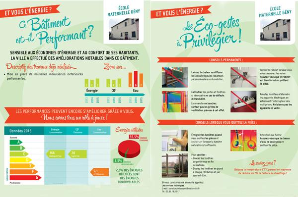 Les communes affichent la performance énergétique de leur patrimoine