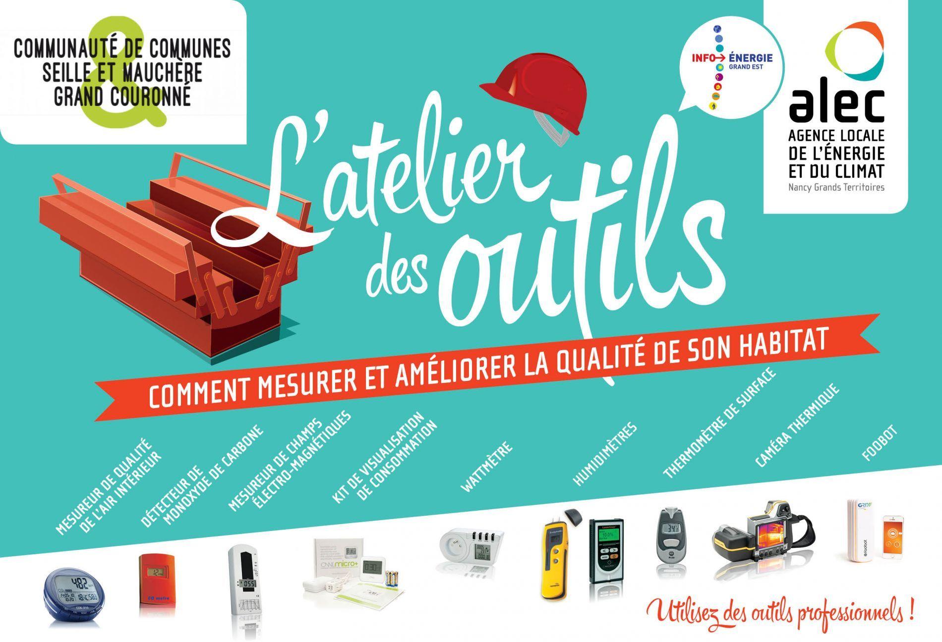 L'Atelier des outils à Champenoux