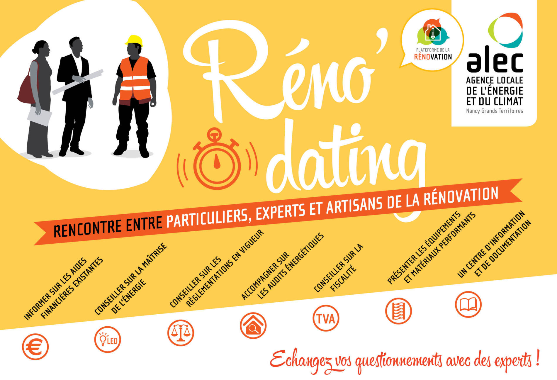 Semaine de l'habitat – Réno'Dating