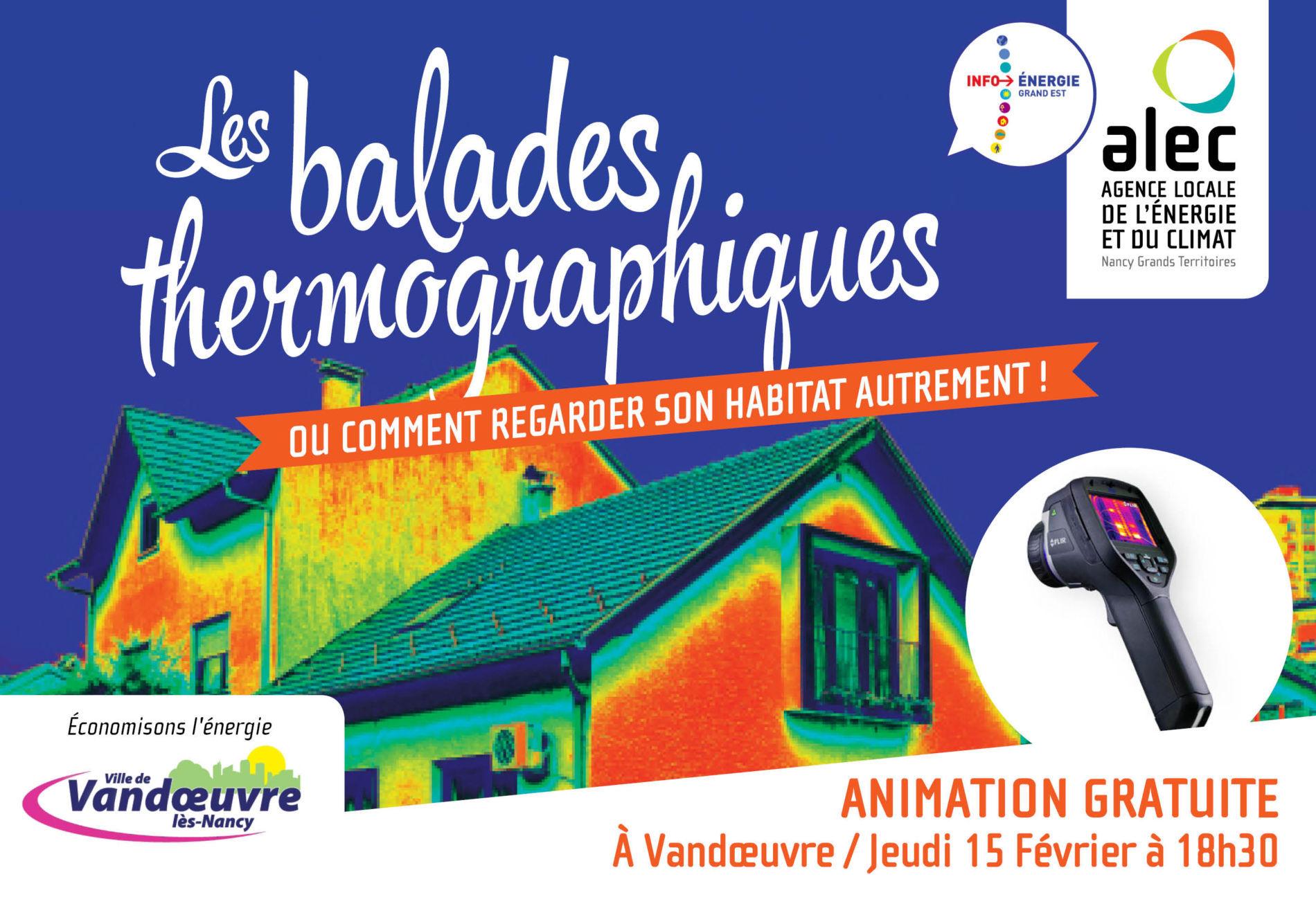 Balade thermographique Vandoeuvre-lès-Nancy
