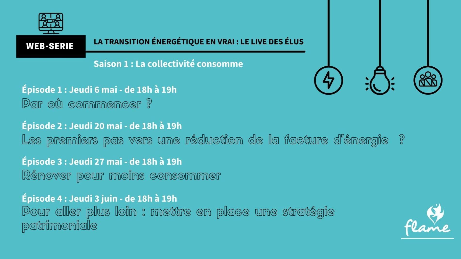 """Websérie """"La transition énergétique en vrai ! : Le Live des élu.e.s"""""""