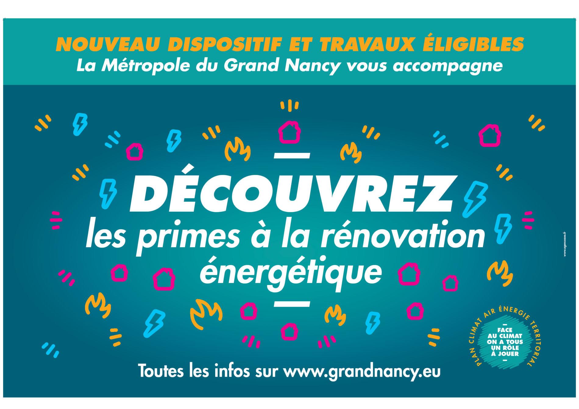 Aides de la Métropole du Grand Nancy : nouveautés 2019